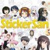 Sticker san