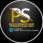 Instagram page sales